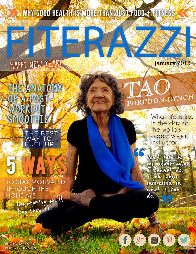 Fiterazzi Magazine - January Cover
