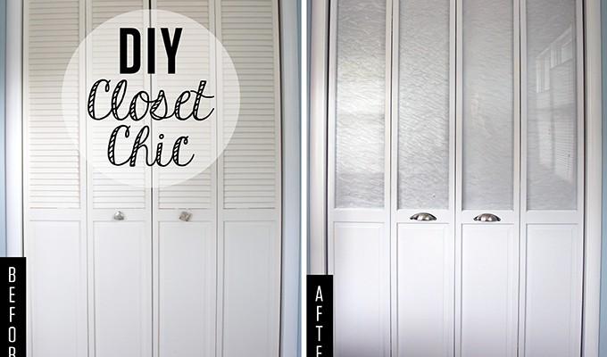 DIY Closet Chic